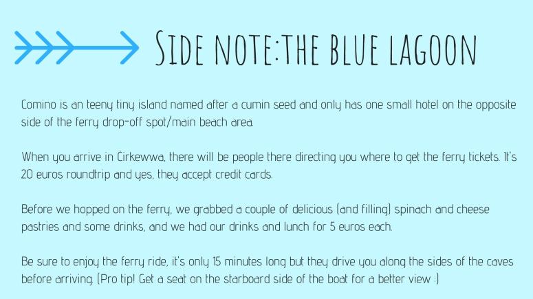 Short tips on Blue Lagoon